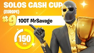 I POPPED OFF in the Solo Cash Cup... AGAIN