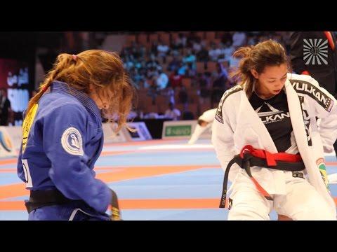 Ariadne Oliveira vs Mackenzie Dern Abu Dhabi World Pro Female Black belt Semi Finals