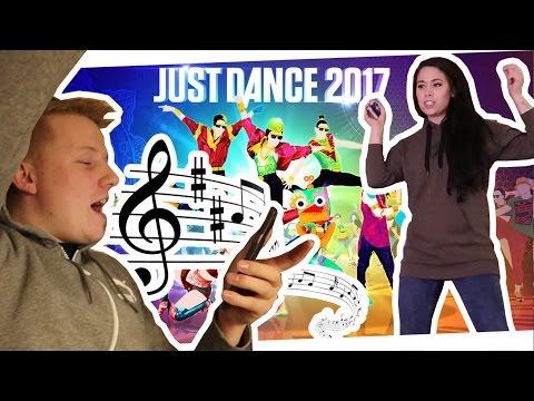 LET'S PLAY JUST DANCE 2017! KARAOKE SINGEN! 04.01.2017 - DynamitesLife