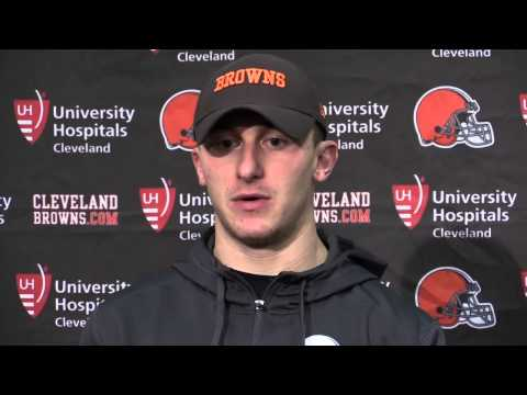 Johnny Manziel says injury was frustrating after Browns loss to Panthers