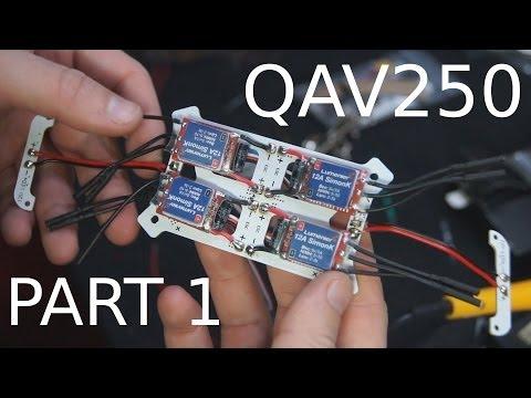 QAV250 build Part1- Frame ESC's- That HPI Guy