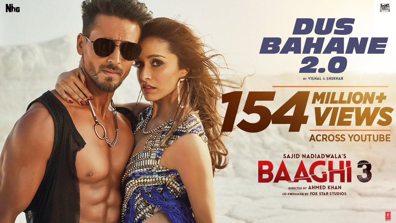 Baaghi 3: Dus Bahane 2.0 | Vishal & Shekhar FEAT. KK, Shaan & Tulsi Kumar | Tiger S, Shraddh