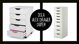 DUPE!! || Ikea Alex Drawers || Thumbnail