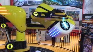 VR 720 degree flight simulator 2