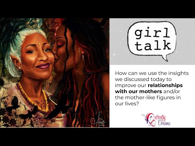 Building better relationships with our mothers