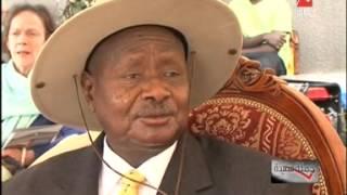 شاهد ماذا قال رئيس أوغندا لمنى الشاذلي عن صورة عبد الناصر في قلب أوغاندا #جملة_مفيدة