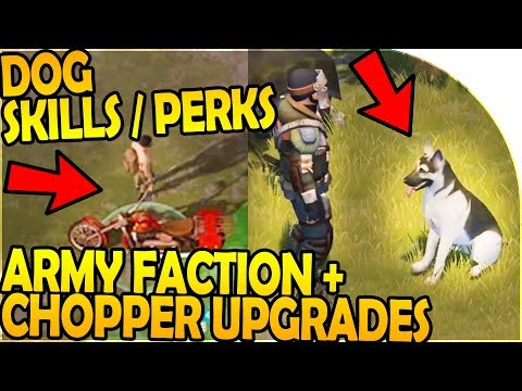 DOG SKILLS / PERKS + ARMY FACTION + CHOPPER UPGRADES COMIN - Last Day On Earth Survival 1.7.9 Update