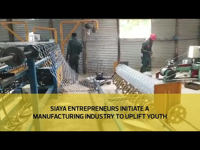 Siaya entrepreneurs initiate a manufacturing industry to uplift youth