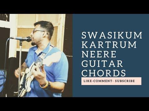 Swasikum katrilum neere by Premji Guitar Chords