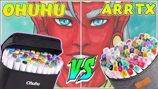 Ohuhu Markers Vs Arrtx Markers - Marker Review