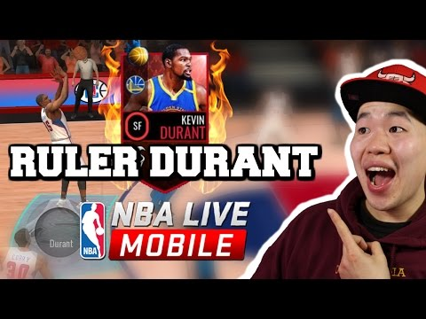 Ruler Kevin Durant Gameplay - Double Clutch God - Nba Live Mobile