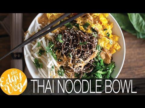 Easy vegan gluten free dinner thai noodle bowl recipe collab w easy vegan gluten free dinner thai noodle bowl recipe collab w hot for food the edgy veg youtube forumfinder Images