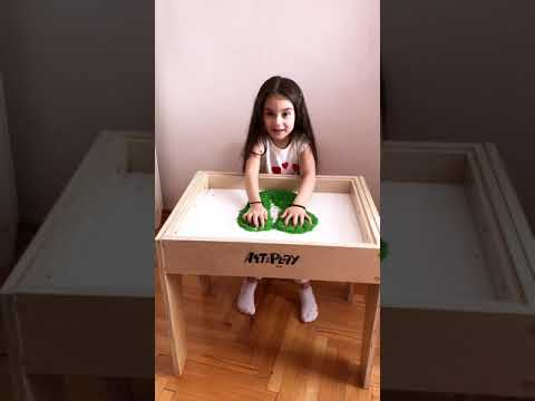 So what your child can do with our top hit 5-in-1 Art Light Activity Table?