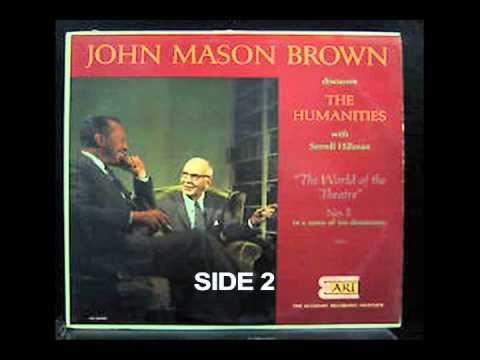 John Mason Brown  The World of the Theater