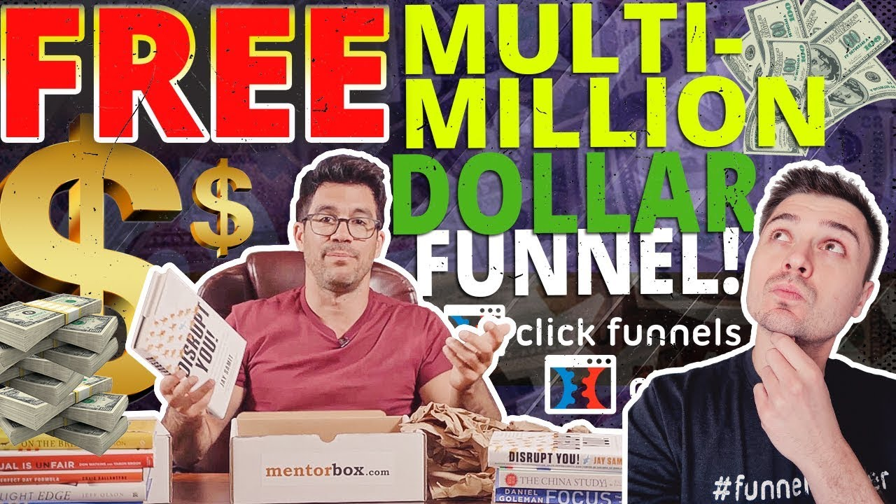CLICKFUNNELS BONUS: FREE MULTI-MILLION DOLLAR SALES FUNNEL TEMPLATE WITH TRIAL!