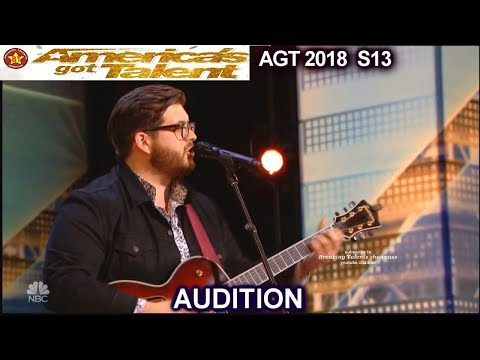 Noah Guthrie Glee Alum Love On The Brain HE KILLED IT America's Got Talent 2018 Audition AGT