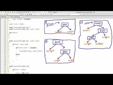 C++ Tutorials- Database Tree (part1)