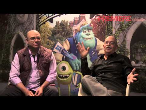 Victor Trujillo y Andrés Bustamante hablan sobre Monsters University Videos De Viajes