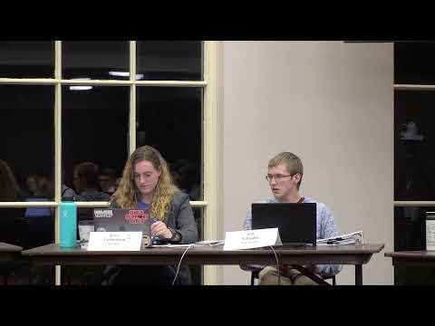 Student Government - Senate Meeting 10/09/2019