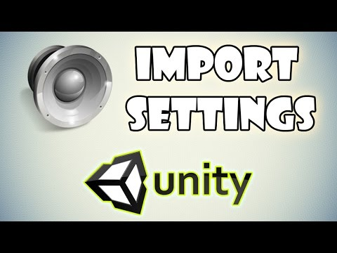 Audio Import Settings, WAV or MP3, Reduce Scene Load Time in Unity3d