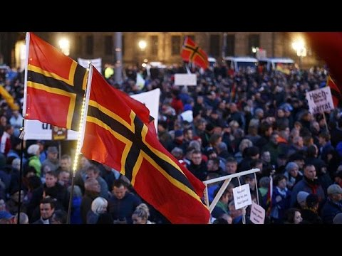 يورو نيوز: ألمانيا : تظاهر الآلاف من أنصار حركة