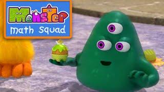 Monster Math Squad |  FULL EPISODE  | Slime Cream Sundae | Learning Numbers Series
