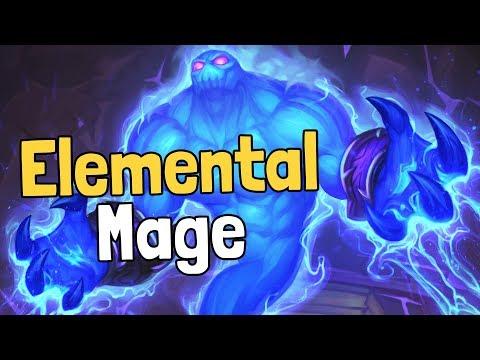 Elemental Mage Decksperiment - Hearthstone
