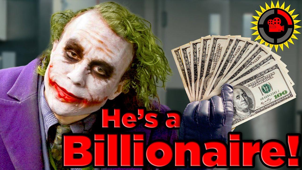 Film Theory: Joker is a Billionaire! (Batman The Dark Knight)