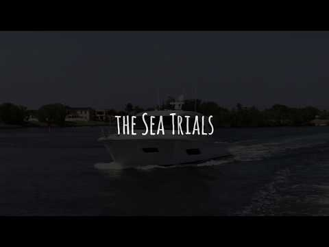 Riviera Yachts Sea Trial Rough Water