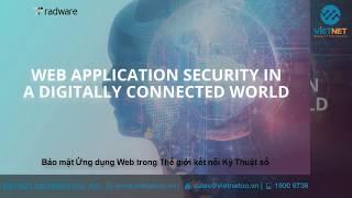 Radware - Giải pháp bảo mật ứng dụng web trong thế giới kết nối kỹ thuật số