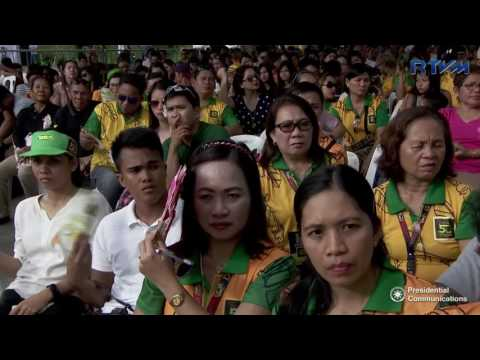Davao del Norte 50th Founding Anniversary (Speech) 7/1/2017