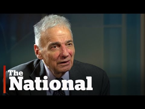 Ralph Nader on the rise of Donald Trump