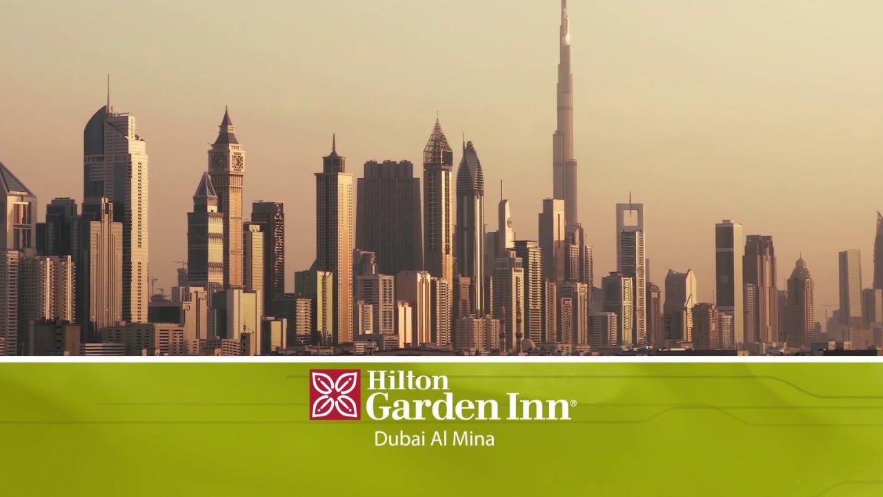 Hilton Garden Inn Dubai Al Mina. - YouTube