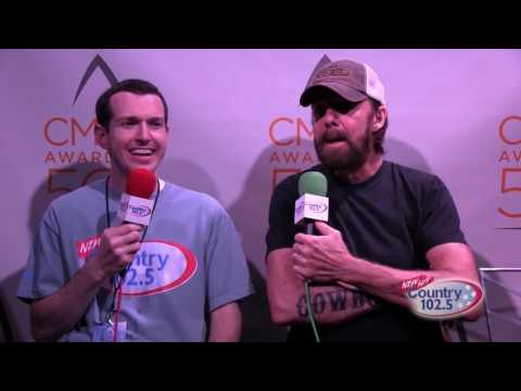 The 50th Annual CMA Awards Broadcast: Ronnie Dunn Interview