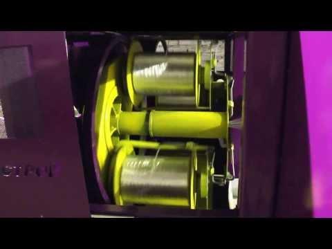 видео: Обмотчик Оборудование для производства стеклопластиковой композитной арматуры
