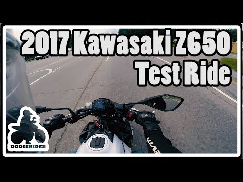 2017 Kawasaki Z650 - Test Ride