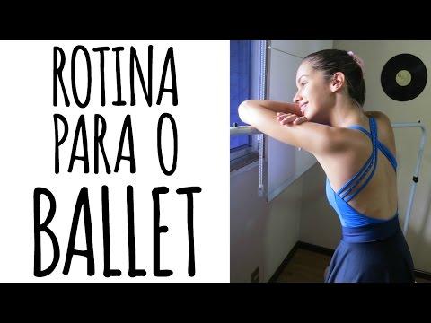 Rotina para o ballet - Por Passos de bailarina