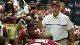 Coach Jimbo Fisher's Passionate Halftime Speech | A SEASON WITH FLORIDA STATE FOOTBALL