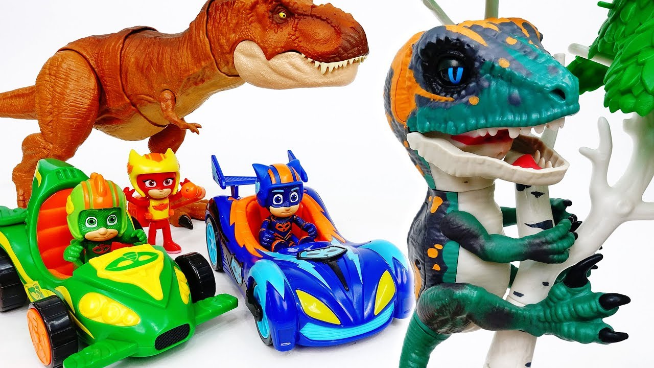 PJ Masks, Race Into The Night To Rescue The Baby Dinosaur - ToyMart TV