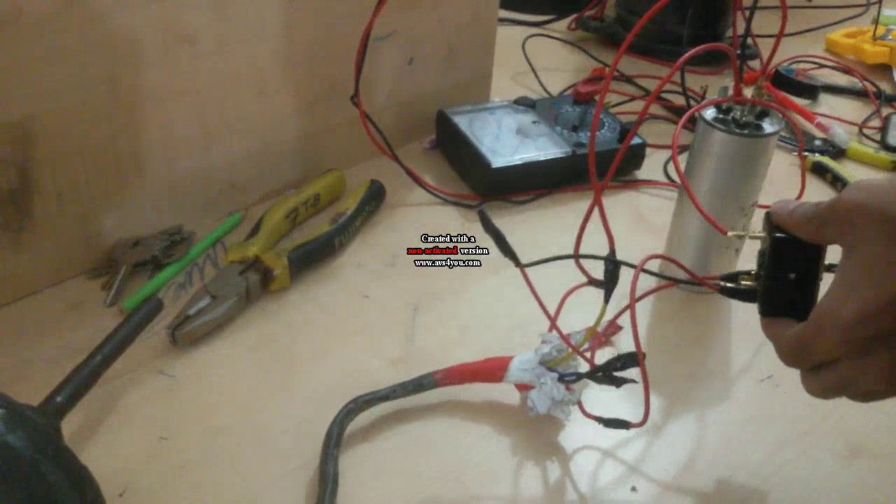 maxresdefault ac compressor and blower test how to make connection how to hvac compressor wiring check at gsmx.co