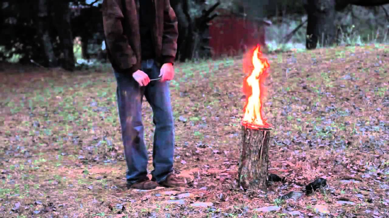 How to Make a Swedish Torch - YouTube
