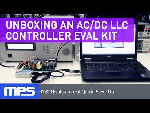 Unboxing Eval Kit for Digital Power Factor Correction Analog LLC Controller AC DC HR1200
