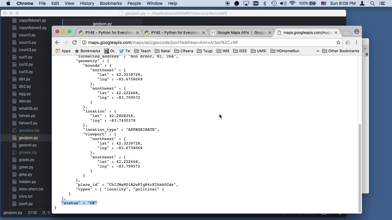 Worked Example: GeoJSON API (Chapter 13)