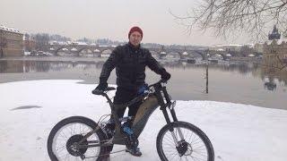 Электровелосипед своими руками 26 Emotors(Электровелосипед своими руками, мощьность мотора 1000 ватт, максимальная скорость 50 км/ч. дальность пробега..., 2016-01-23T14:55:44.000Z)