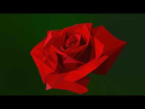 Episode 51 - Low Poly Rose Animation (After Effects) - Jamie's Motion Graphics