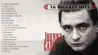 Johnny Cash Greatest Hits - Best Songs Of Johnny Cash ( FULL ALBUM)
