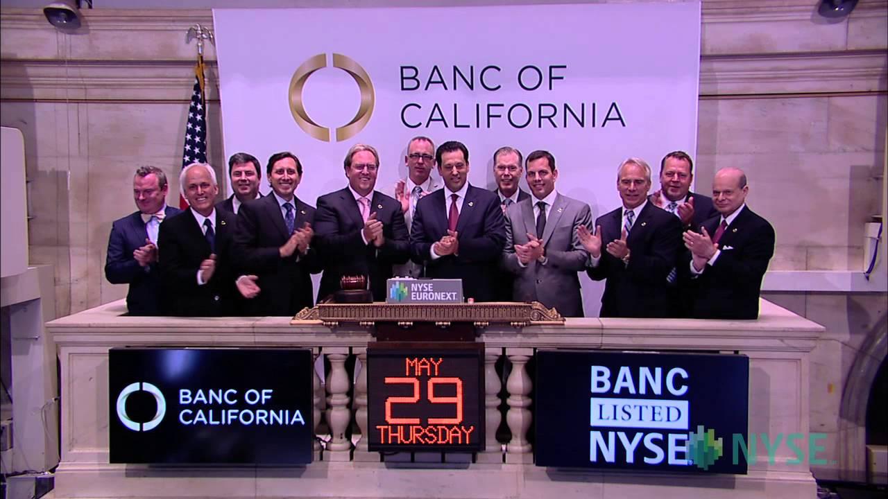 Banc of California Celebrates Transfer of Common Stock Listing to ...