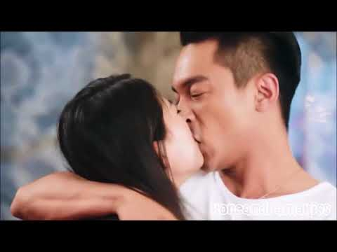 Kiss Sence।। Chainese Movie 'love Test'।।  Romance Queen।।