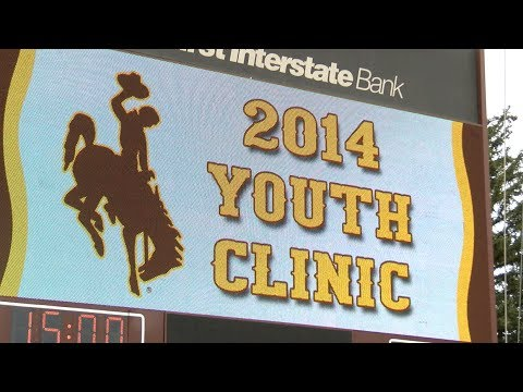 4.19.14 Wyoming Kids Camp Clinic