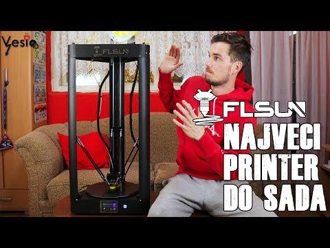 Novi 3D stampac  Delta FLSUN QQ S